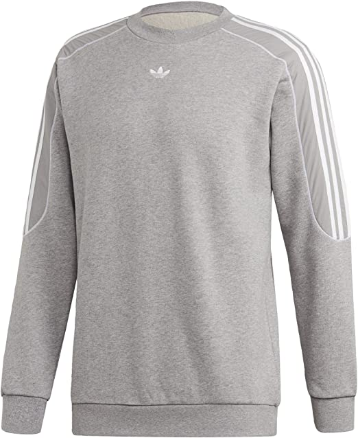 adidas originals RADKIN CREWNECK MEDIUM GREY HEATHER bei