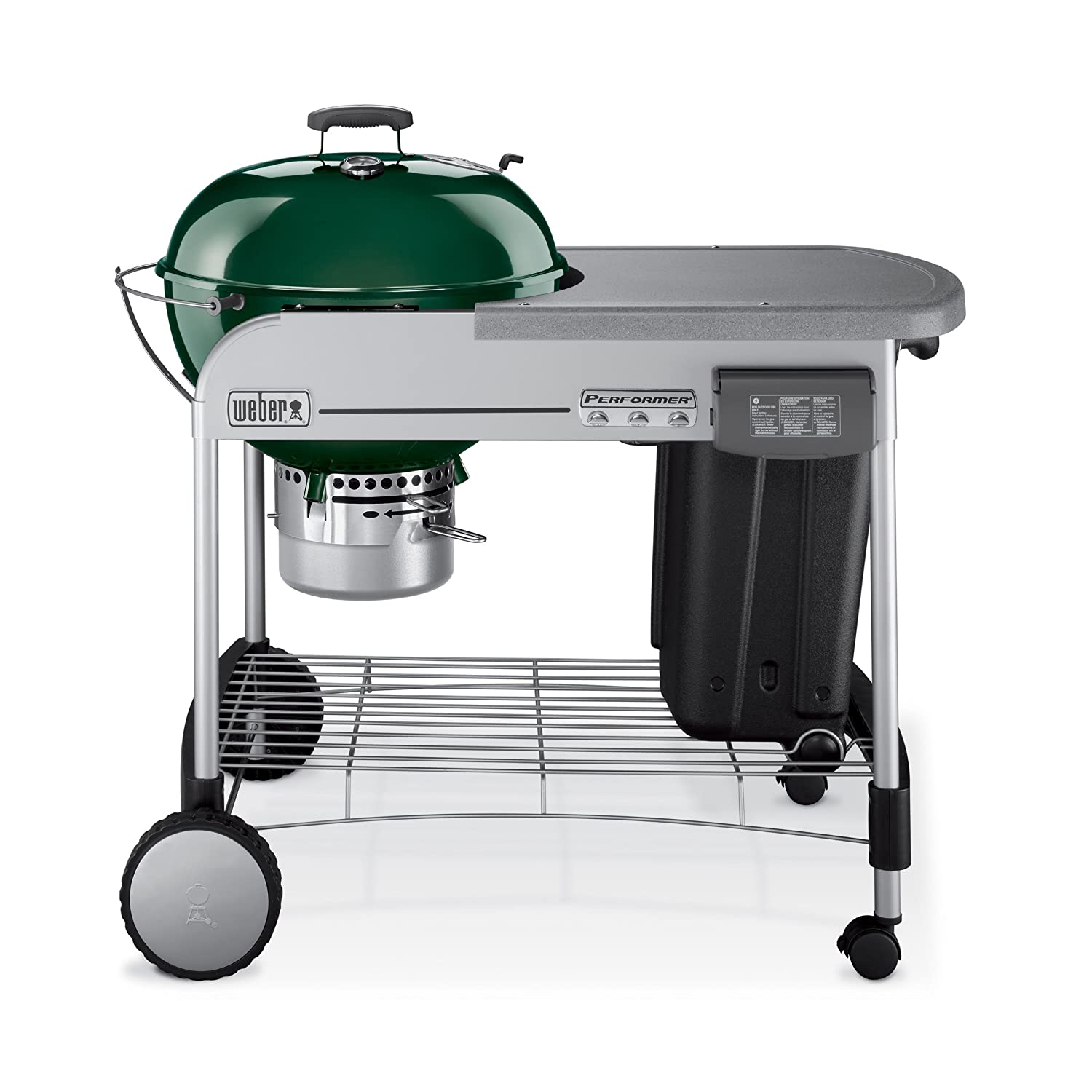 Amazon Weber Performer Charcoal Grill Green