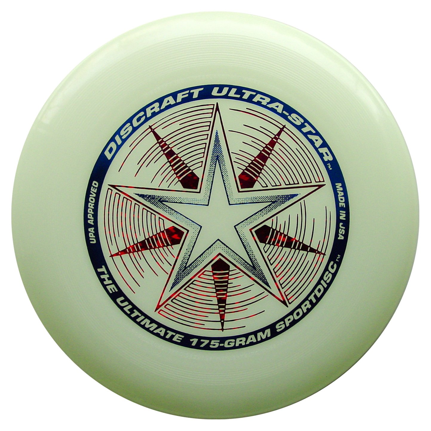 Frisbee Profesional Discraft 175 gr. / 27cm Glow Deluxe