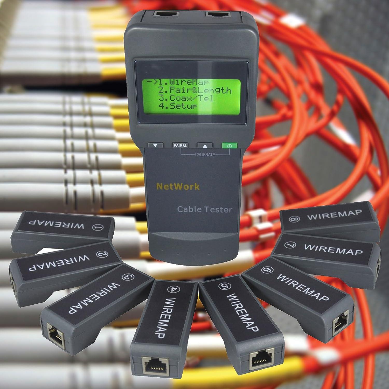 Kabelnetzwerk LAN Koaxial Kabellänge: Amazon.de: Elektronik