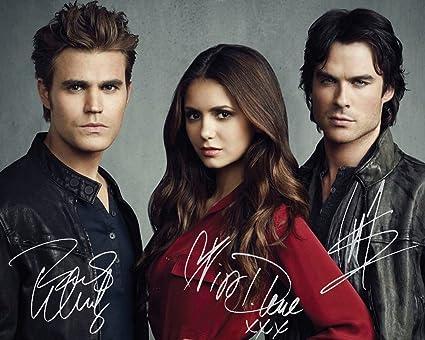 Amazon Com The Vampire Diaries Paul Wesley Nina Dobrev