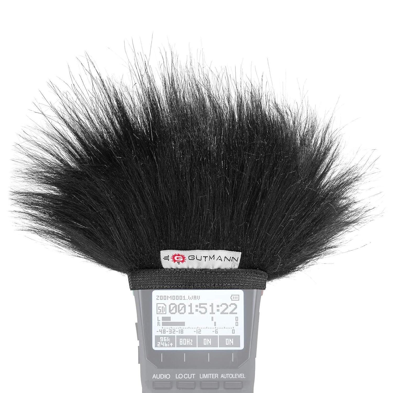 Gutmann bonnette anti-vent protection contre de bruit le vent pour Zoom H4 MWS-H4
