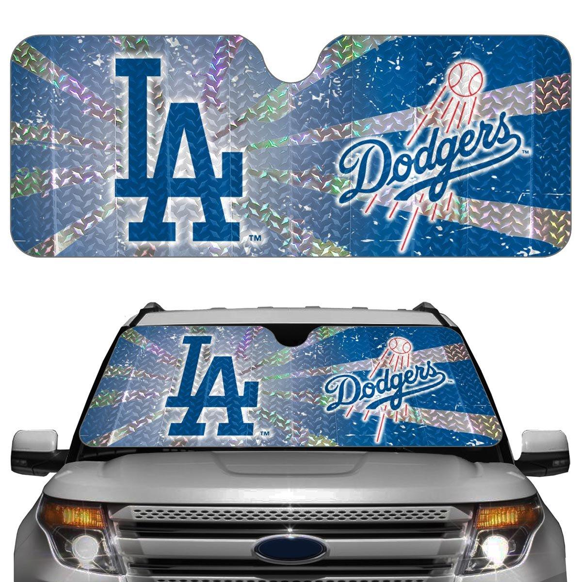 Amazon.com  MLB Los Angeles Dodgers Auto Sun Shade Windshield  Sports    Outdoors 8c67e7ae21d