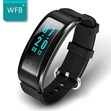 Amazon.com: WFB Bluetooth Fitness Tracker Smartwatch For ...