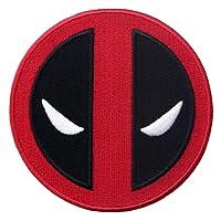Embird Extreme Deadpool Icon Écusson brodé fer sur/coudre sur Patch