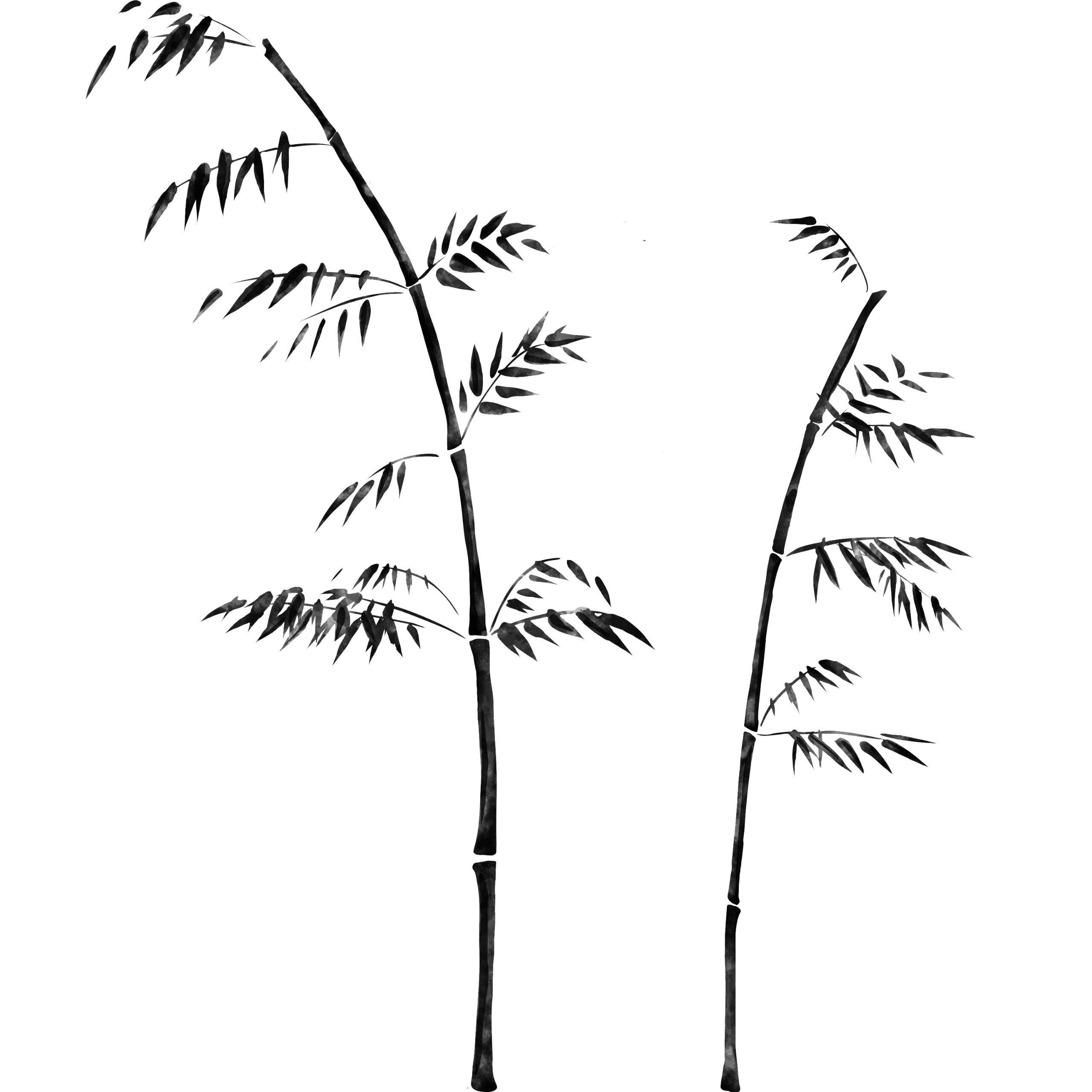 Vinilo Decorativo Pared [052FUMJC] bamboo ramas