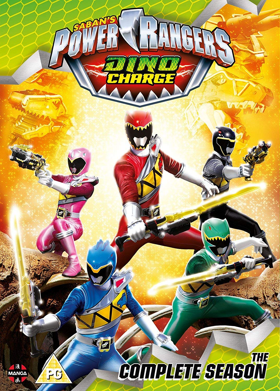 Power Rangers Dino Charge: The Complete Season Boxset ...
