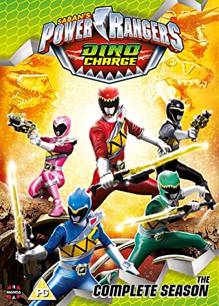 Power Rangers Dino Charge: The Complete Season Boxset ...