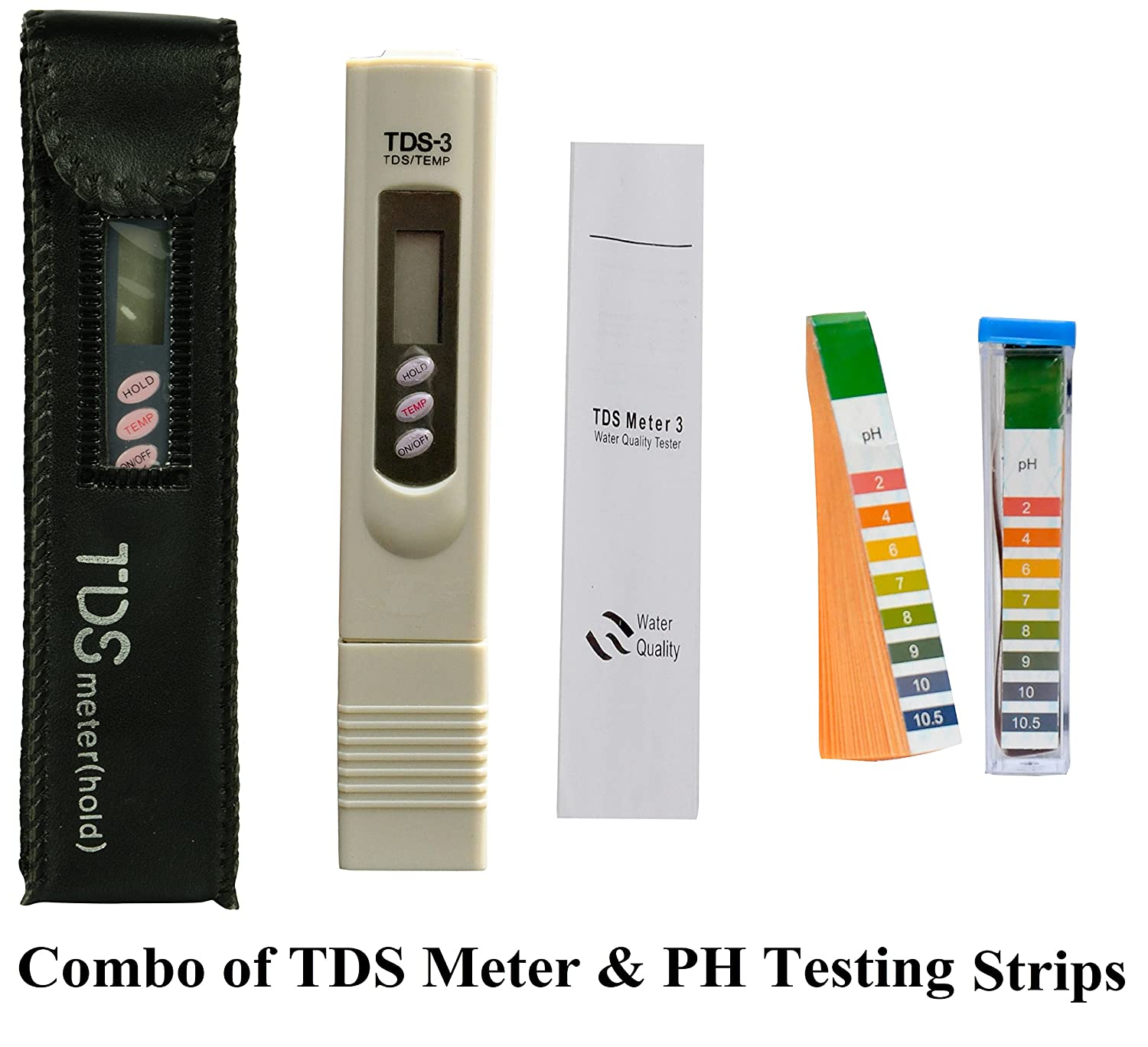 Psi Tds Meter Pocket Digital For Ro Filter Purifier Water Quality Tester With Carry Case Industrial Scientific
