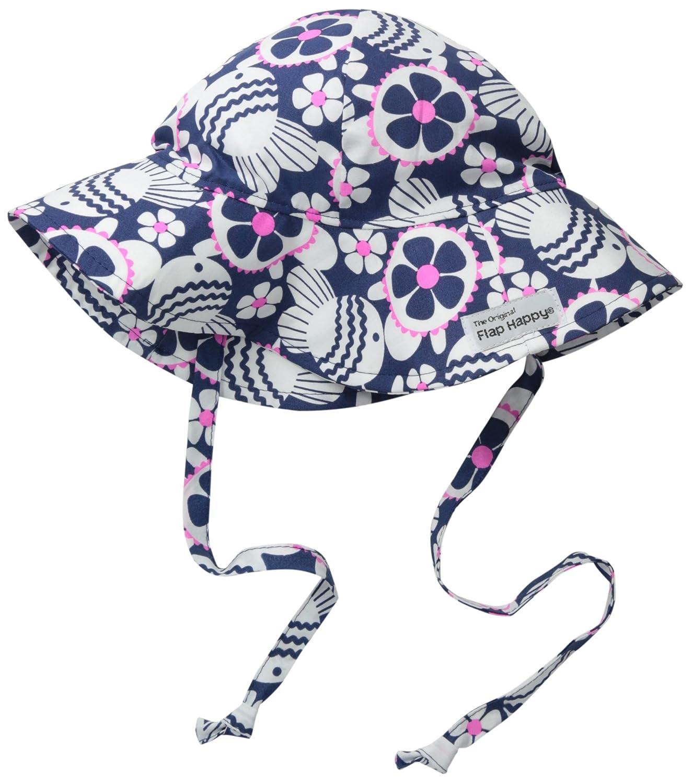 ac92d511b7f Amazon.com  Flap Happy Baby Girls  UPF 50+ Floppy Hat  Clothing