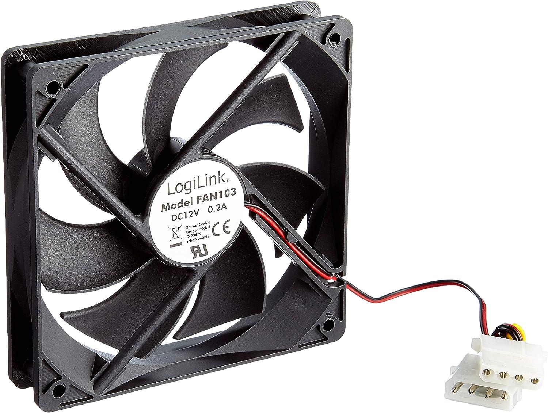 Logilink Fan103 Gehäuselüfter 120 X 120 X 25 Mm Computer Zubehör