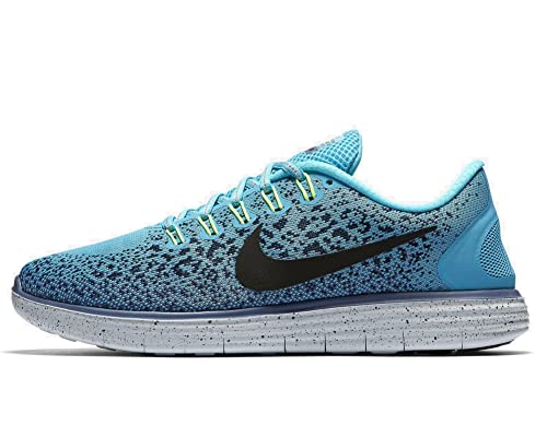 d132d4ccb142d NIKE Women s Free RN Distance Shield Running Shoes 849661 400 (4.5 ...