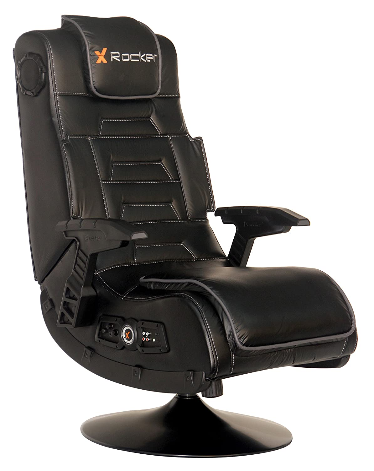 Awe Inspiring Amazon Com X Rocker Pro Series 2 1 Vibrating Black Leather Inzonedesignstudio Interior Chair Design Inzonedesignstudiocom