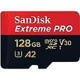 SanDisk Extreme Pro SDXC UHS-I U3 A2 V30 128GB + Adapter