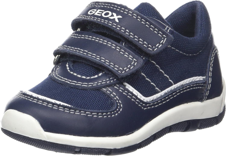 Geox SHAAX chestnut scarpe per ragazzi