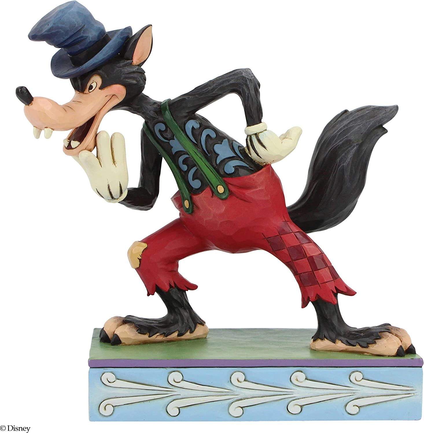 Enesco Disney Traditions by Jim Shore The Big Bad Wolf Figurine