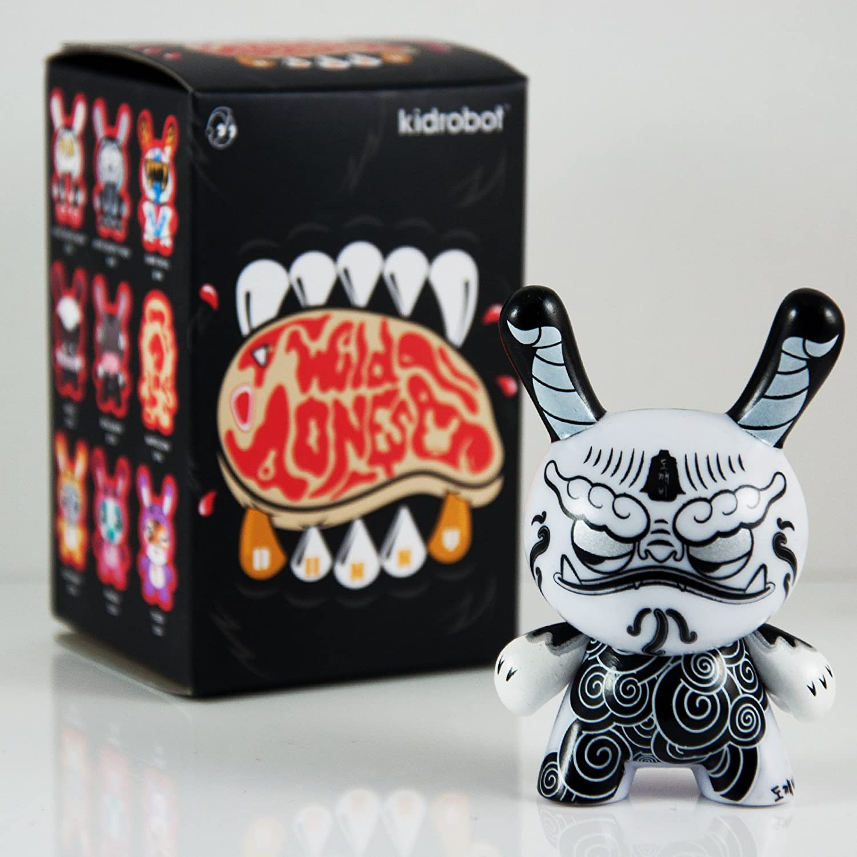Dokkaebi Kidrobot The Wild Ones Dunny Vinyl Mini-Figure