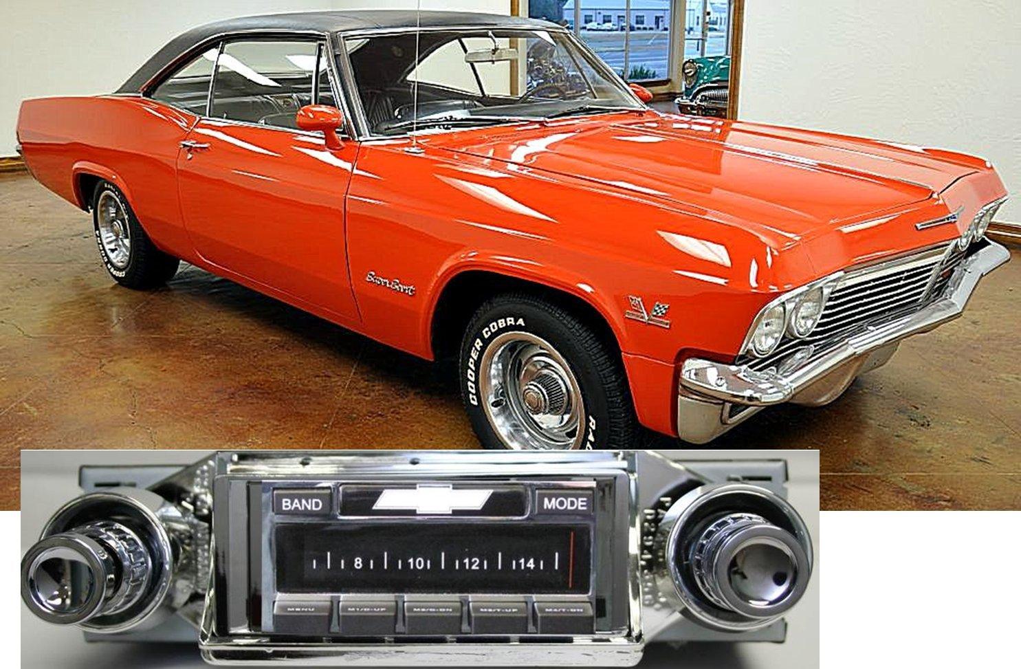 Amazon.com: 1965 Chevy Impala USA-630 II High Power 300 watt AM FM ...