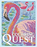 Coloring Quest: Activity Puzzle Color By Number Book for Adults Relaxation and Stress Relief (Color By Number Quest)