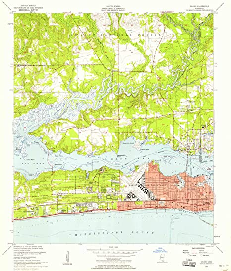 Amazon.com : YellowMaps Biloxi MS topo map, 1:24000 Scale ... on county map of mississippi, shape map of mississippi, google map of mississippi, wind map of mississippi, soil map of mississippi, terrain map of mississippi, scale map of mississippi, travel map of mississippi, minerals map of mississippi, relief map of mississippi, temperature map of mississippi, brochure of mississippi, demographics of mississippi, street map of mississippi, agriculture map of mississippi, precipitation map of mississippi,