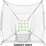 Rukket Baseball/Softball Adjustable Pitching Target | Practice Throwing with Strike Zone (Adjustable Strike Zone Target Only) Frame and Net Sold Separately