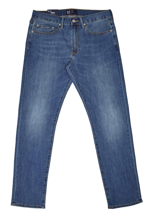 Gap Denim Mens 356366 Slim Fit with GapFlex Soft Wear Medium Wash Blue Jeans