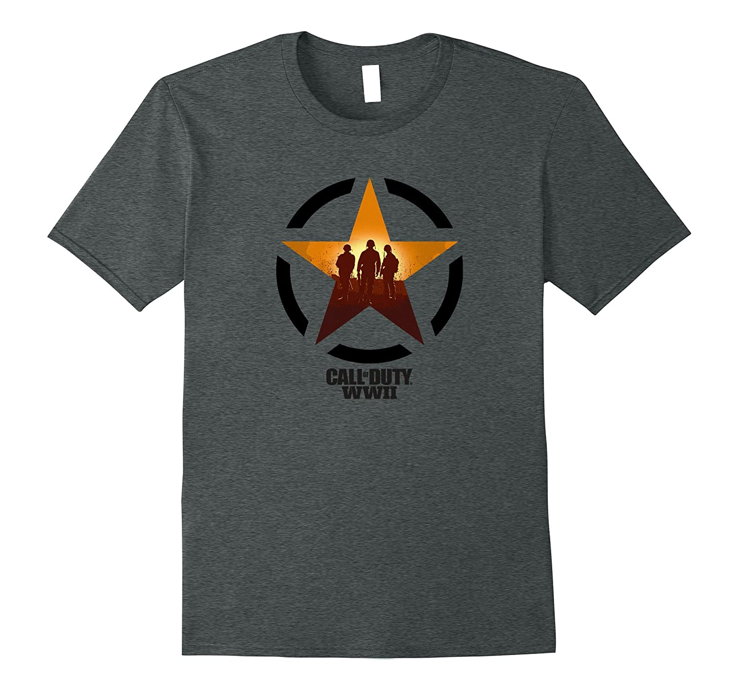 Call of Duty WWII - Soldiers Front Line T-Shirt-RT