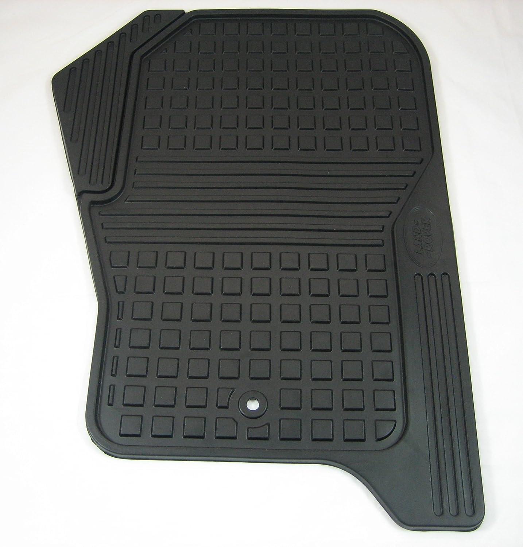 Rubber floor mats lr4 - Amazon Com Genuine 2013 2016 Lr4 All Weather Rubber Mat Set Automotive
