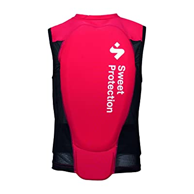 Sweet Protection Back Protector Vest - Kids' Rumbus Red, XS : Clothing