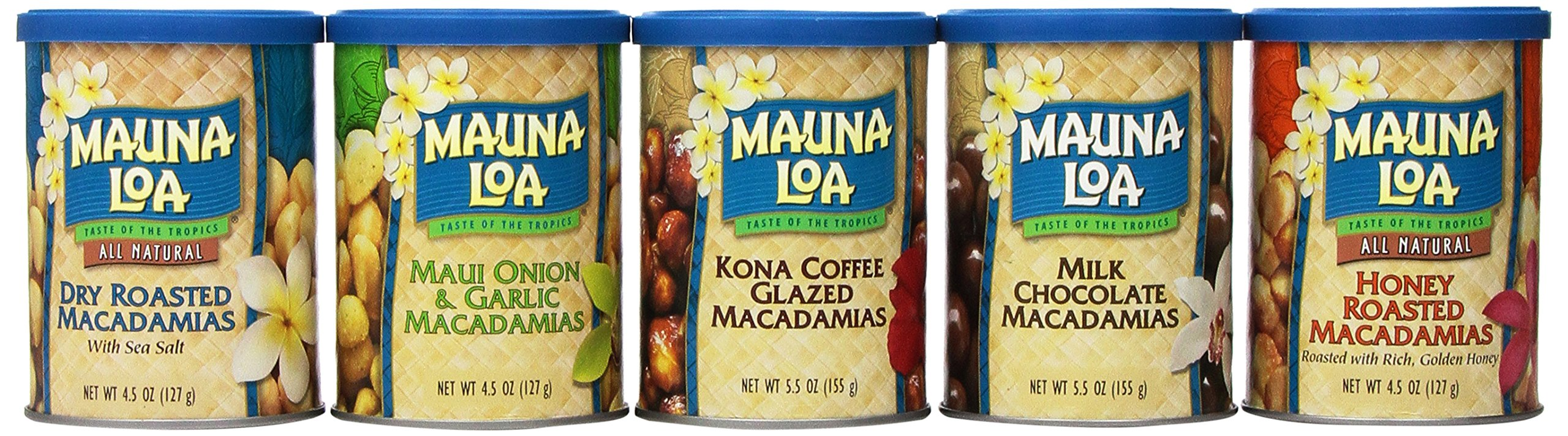 Mauna Loa Island Classics Assortment, 5.5 oz, 6-Count