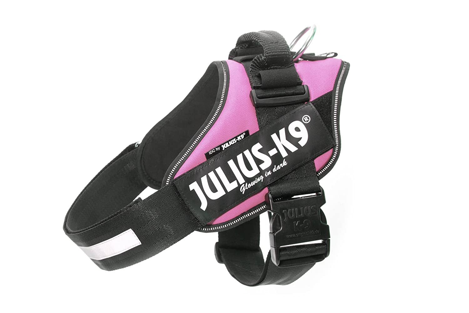 Julius k9 16IDC-PN-MM IDC Power Harness, Tamaño Mini, Rosa K9-Sport