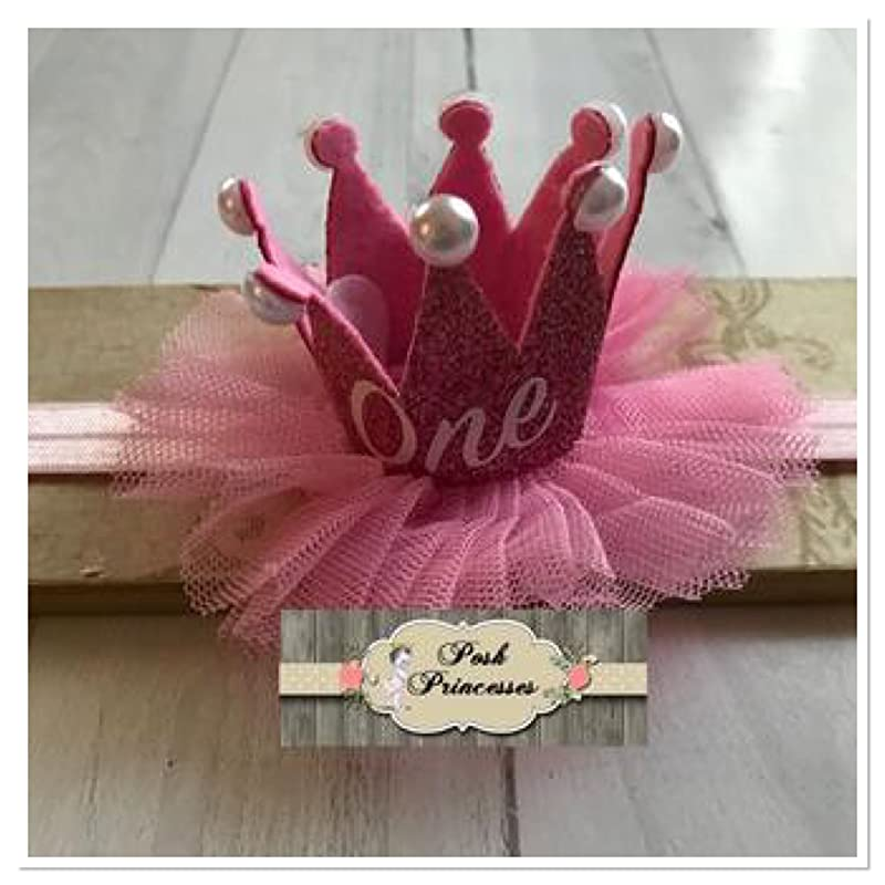 girls headband pink headband princess baby headband Princess headband sparkle grey and pink photo prop metalic silver headband