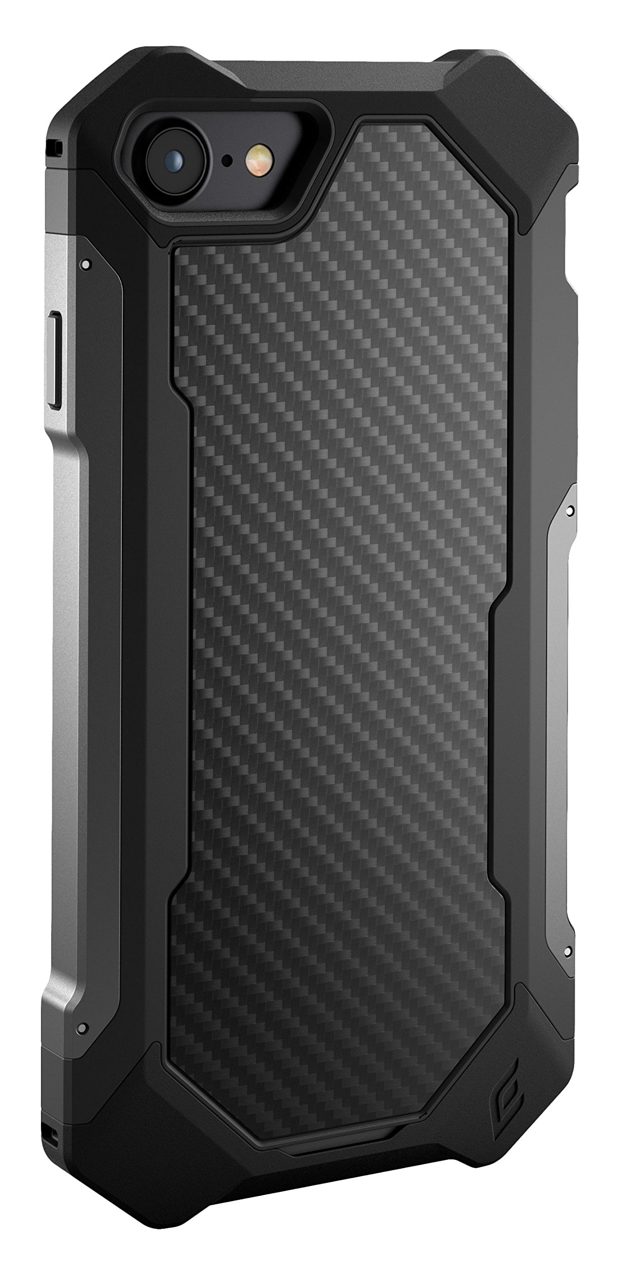 Element Case Sector Mil-Spec Drop Tested Case for Apple iPhone 8 and 7 - Carbon (EMT-322-133DZ-02)