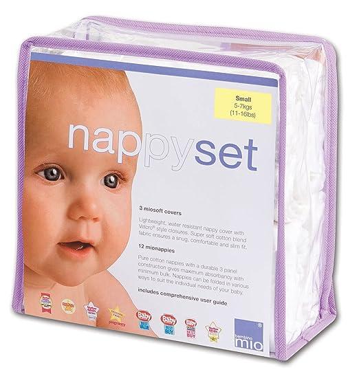 7 opinioni per Bambino Mio NSS Nappy Set Small (5-7 kg)