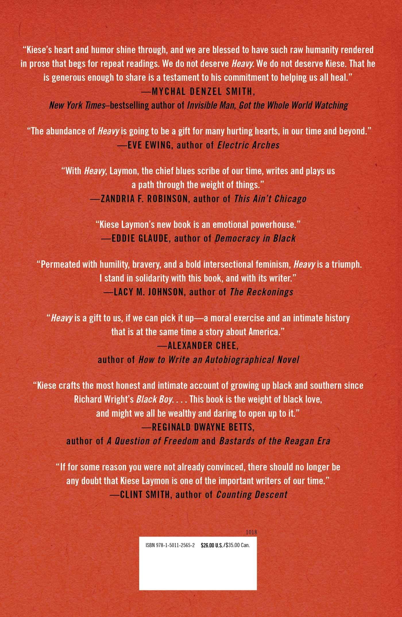 Amazon fr - Heavy: An American Memoir - Kiese Laymon - Livres
