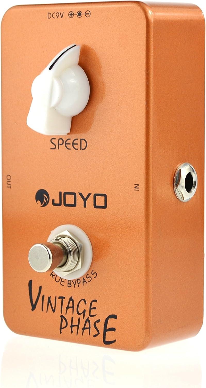 JOYO JF-06 Vintage Phase Guitar Effect Pedal