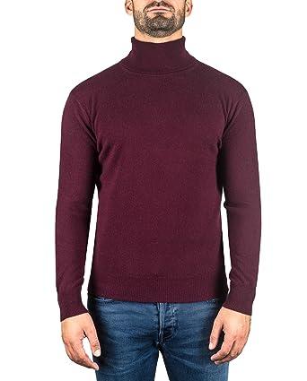 the best attitude 0f298 46308 CASH-MERE.CH Pullover | Sweater | Maglione Dolcevita da Uomo 100% Cachemire  (S-XXL)
