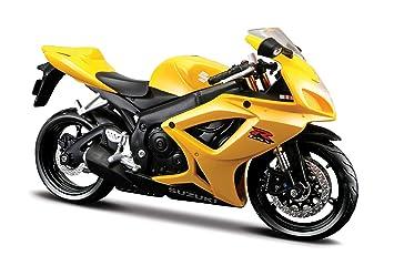 Maisto 531152 Model Motorbike Suzuki GSX R-600 06 1:12 orted ...