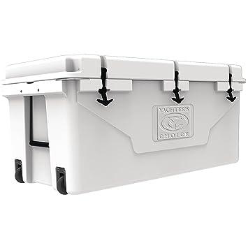Elección de la Yachter 50002 blanco 7 días con ruedas 60L Cooler: Amazon.es: Jardín