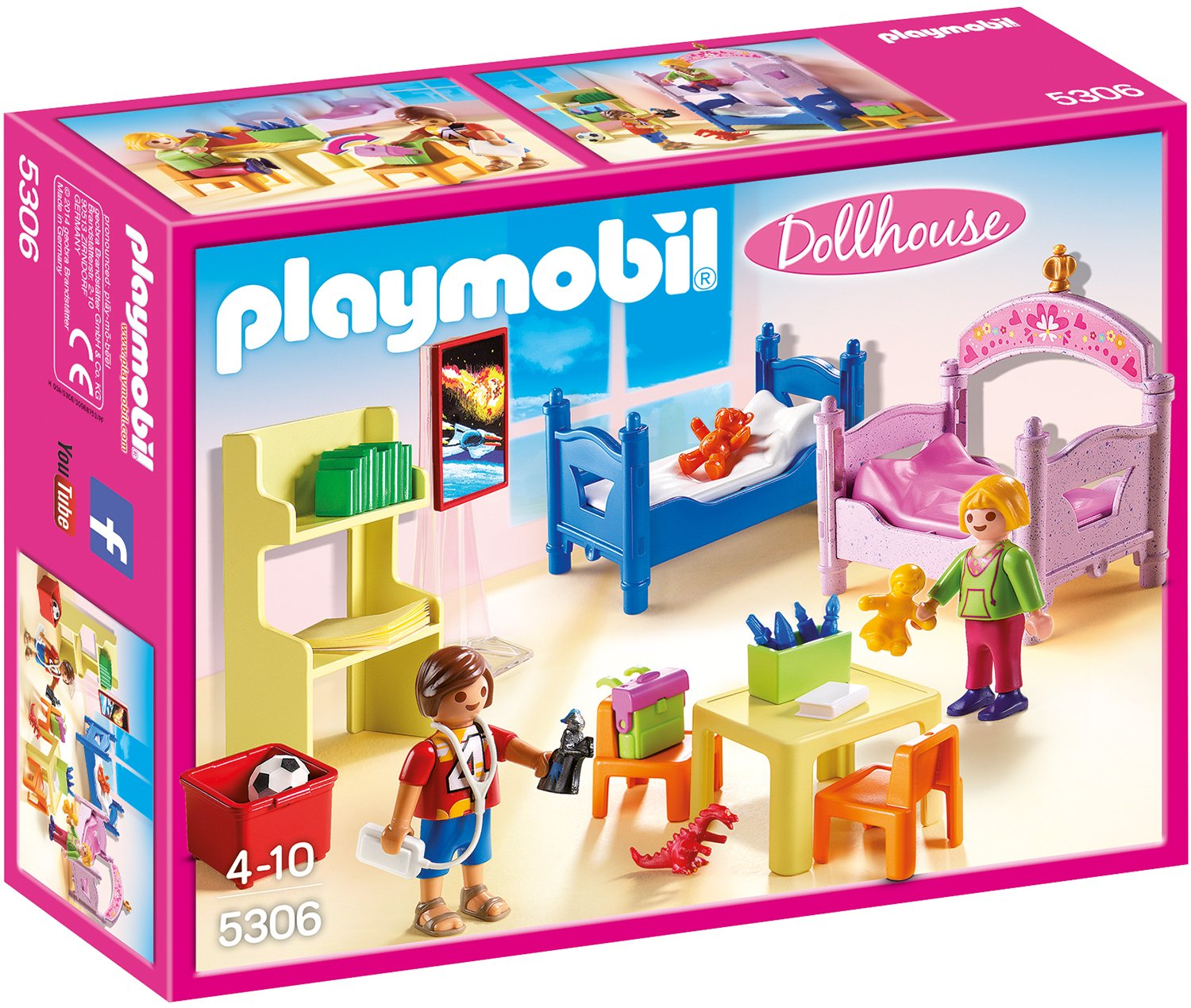 Amazon.de:Playmobil 5306 - Buntes Kinderzimmer