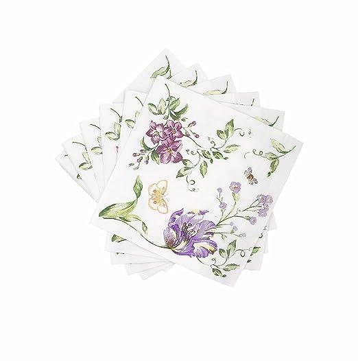 wallye servilletas 20 Pack servilletas de papel Vintage para ...