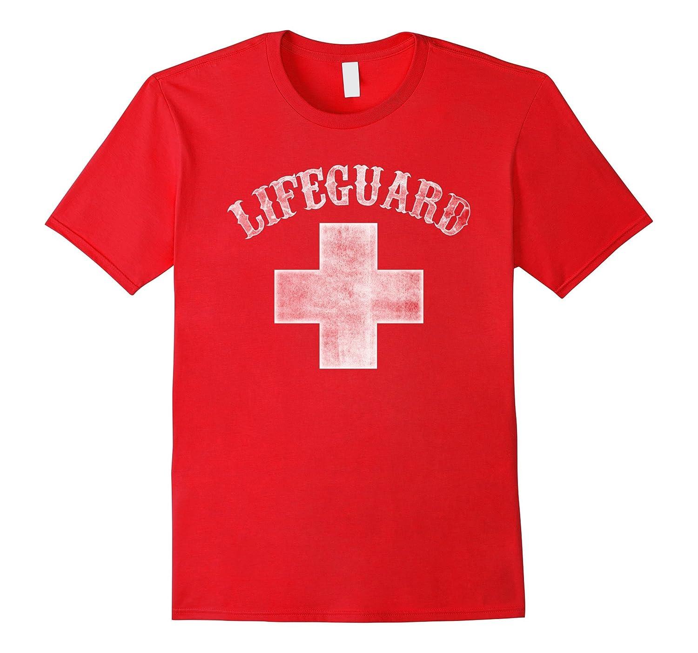 Lifeguard Vintage T-shirt - Vintage Style white color ver-Vaci