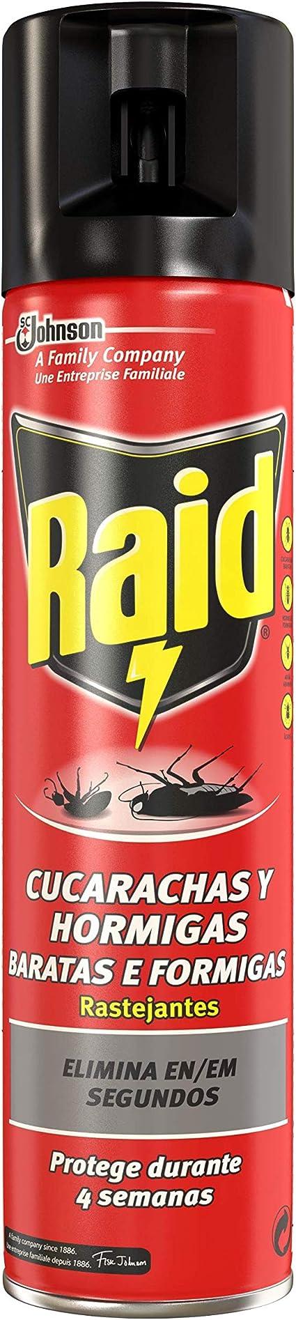 Raid Cucarachas y Hormigas - 400 ml
