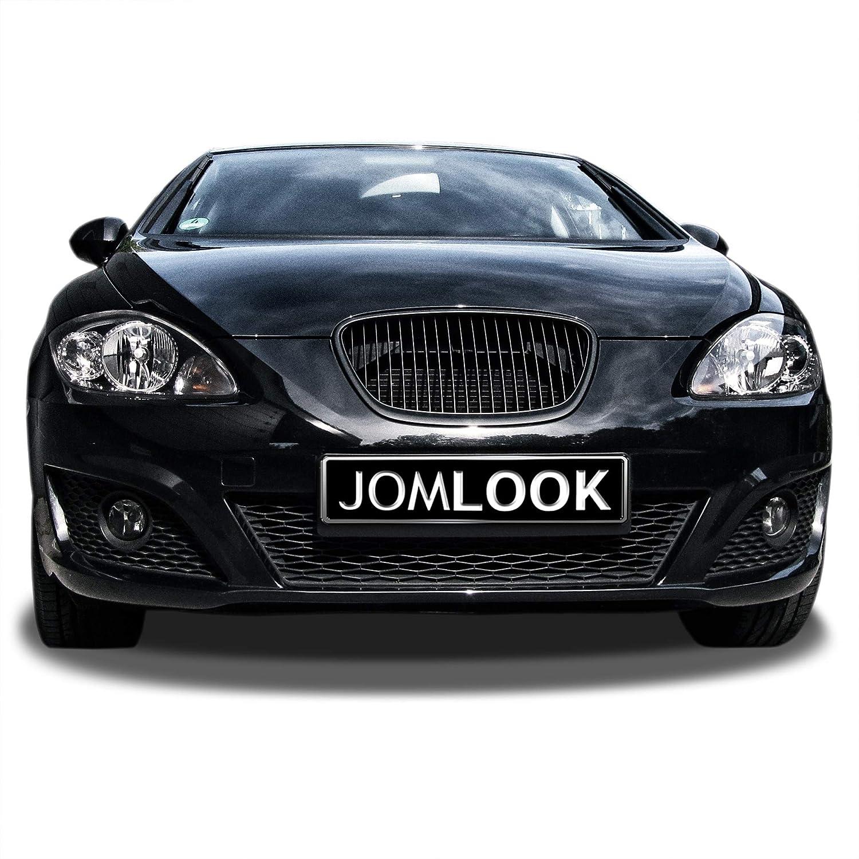 Qualit/é Allemande JOM 1P2853653JOE Calandre de radiateur sans Sigle Compatible Seat Leon 1P 09-12 Seulement FL//Altea 5P D/és 09
