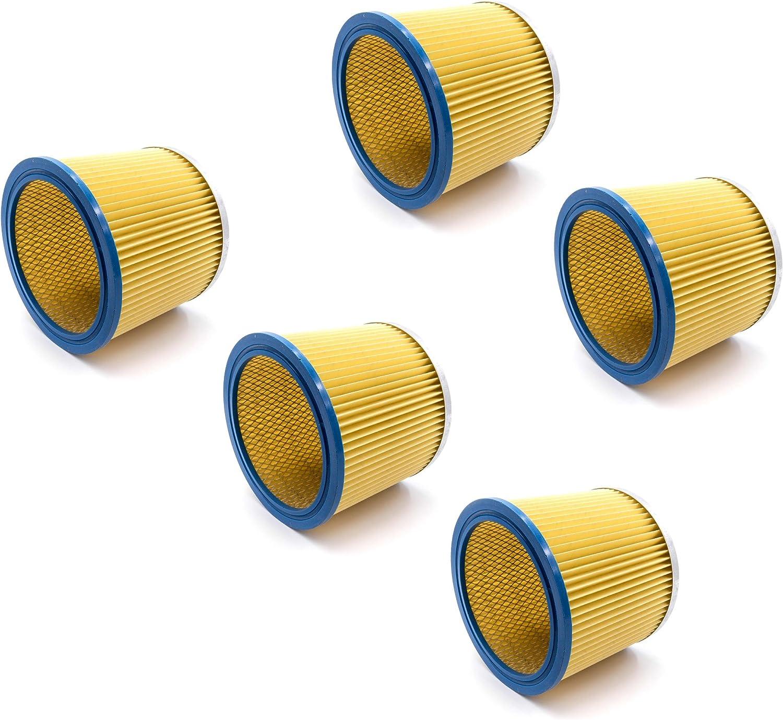 Rundfilter Lamellenfilter geeignet für Einhell TC-VC 1812 S