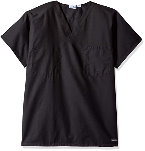 a274178527a Amazon.com: Landau Unisex Medical Scrub Top: Medical Scrubs Shirts ...