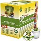 SOLLO Organic Green Tea Pods Compatible With 2.0 K-Cup Keurig Brewers Weight Loss Control Suppresses Appetite Slimming Tea by