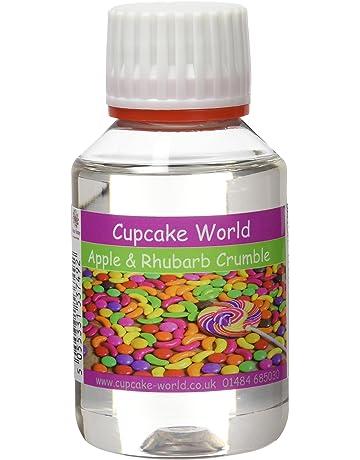 Cupcake World Aromas Alimentarios Intenso Crumble con Manzana y Ruibarbo - 100 ml