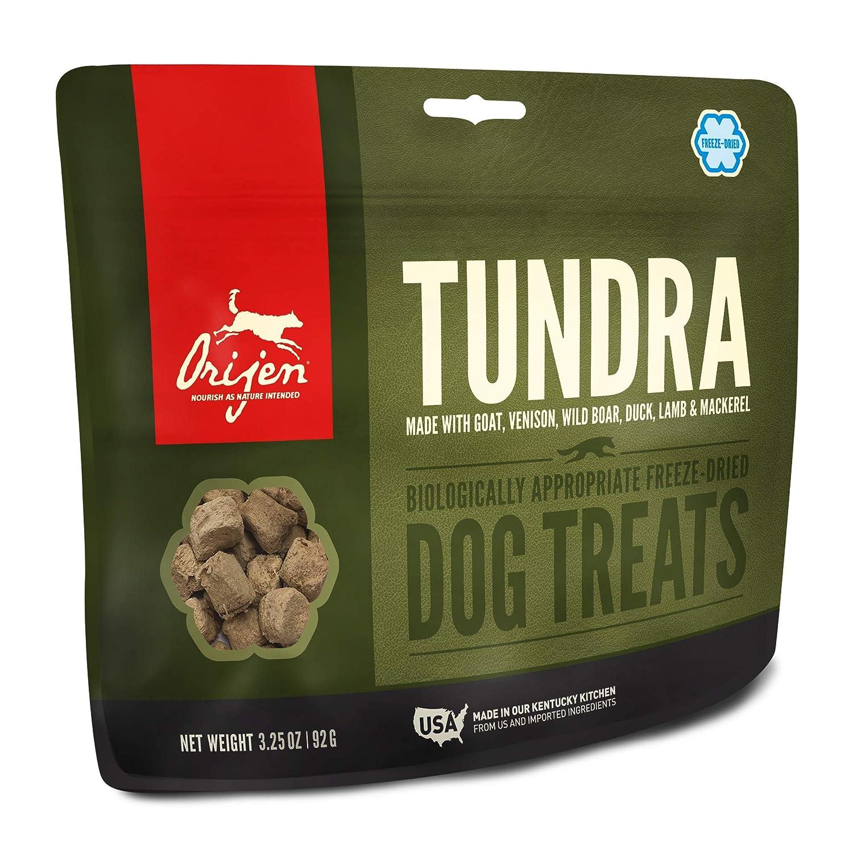 3.25 oz ORIJEN Freeze-Dried Dog Treats, Tundra, Biologically Appropriate & Grain Free