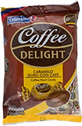 Colombina Coffee Delight 100% Colombian Coffee Hard Candy (Pack of 100)